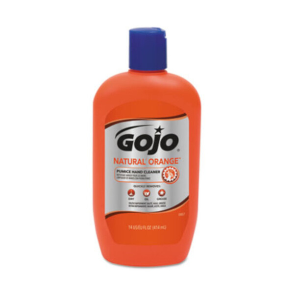 GOJO Natural Orange Pumice 14oz 12/CS