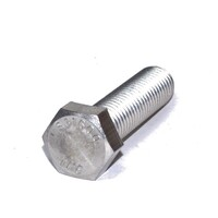 Hex Head Tap Bolt 1/4-20 X 1 1/4  Type 316 Stainless Steel
